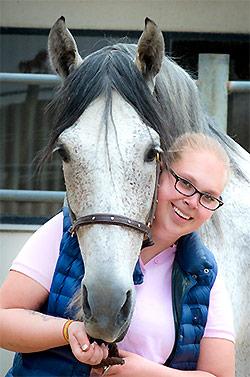 Pferdeverhaltenstherapeutin Isabelle Naumann